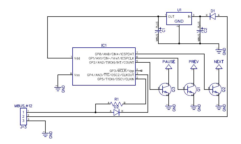 Схема примерно такая получиться.  Микроконтроллер самый дешевый PIC12F629 за 55 рублей, где-то дешевле, где-то дороже.