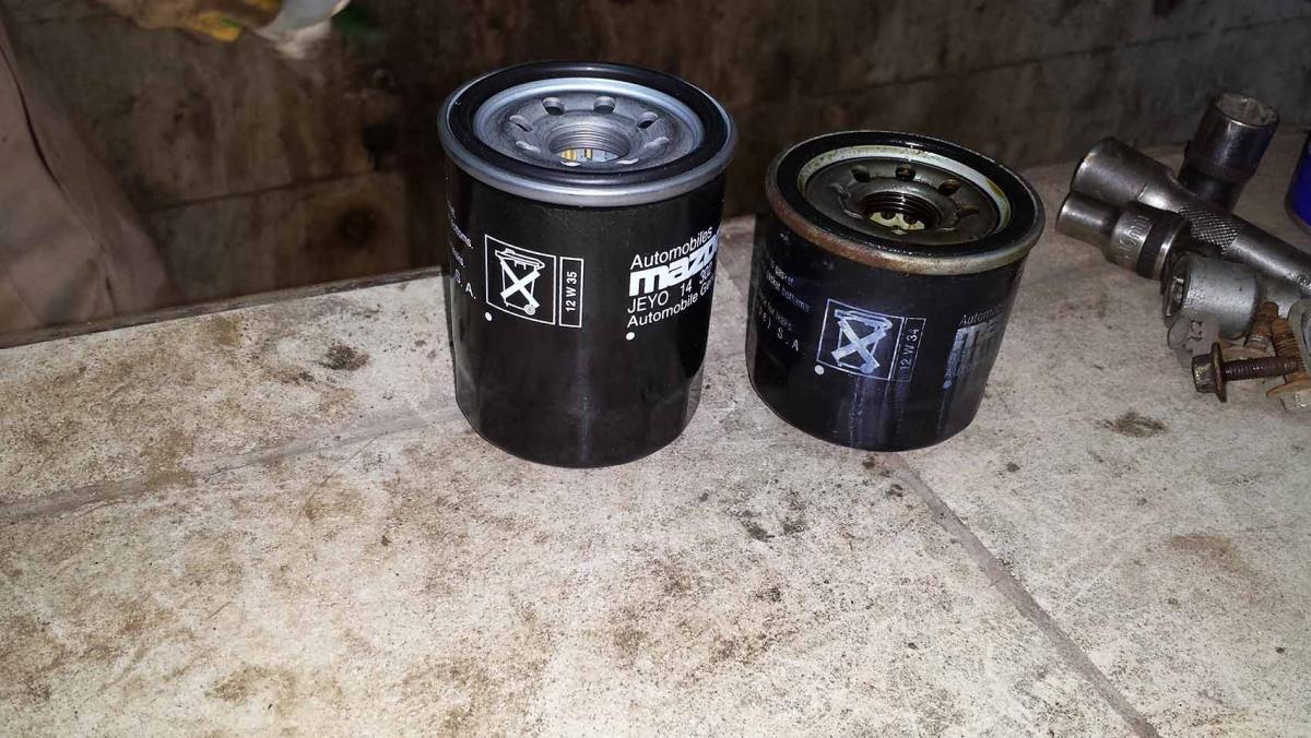 масляный фильтр oc 617 для mazda 3